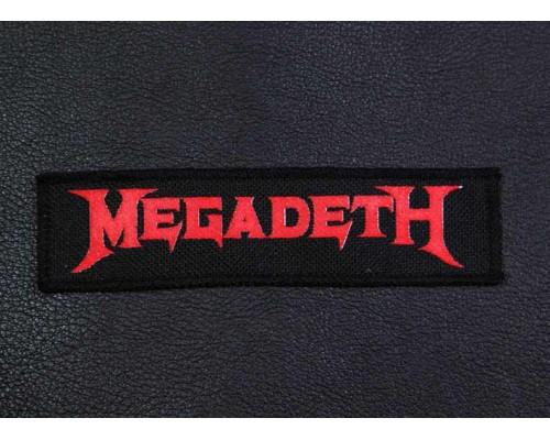 Нашивка Megadeth n1