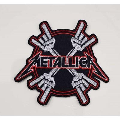 Нашивка Metallica v2
