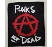 Нашивка Punks not dead 1