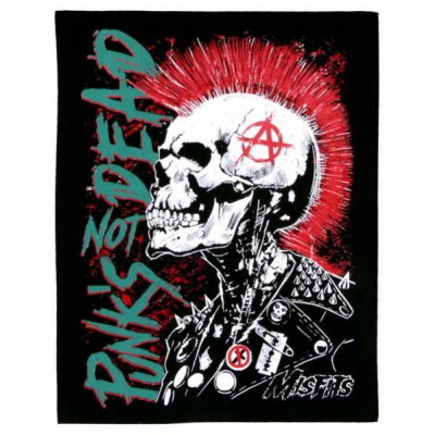 Нашивка Punks not dead 4