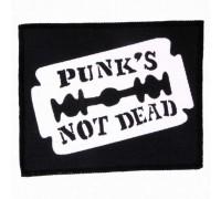 Нашивка Punks not dead 6