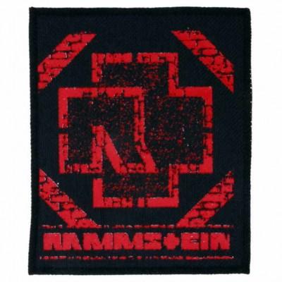 Нашивка Rammstein n4