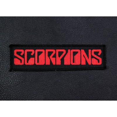 Нашивка Scorpions 1