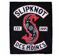 Нашивка Slipknot n7