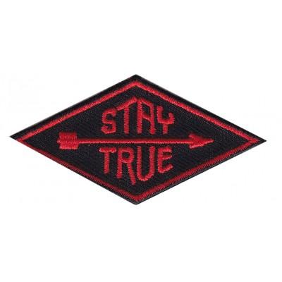 Нашивка Stay True ( будь настоящим) v1