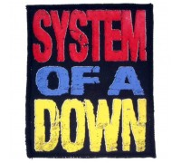 Нашивка System of a Down n1