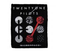Нашивка Twenty One Pilots n1