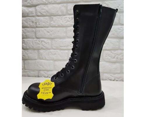 """Ботинки  Ranger 12 колец """"Black """""""