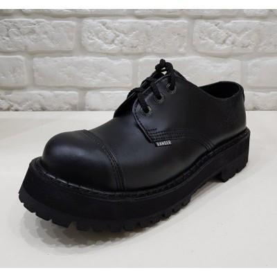 """Полуботинки ботинки Ranger на 3 кольца """" black """""""