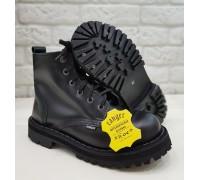 """Ботинки Ranger 6 колец """"Black """""""
