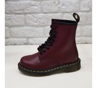 Ботинки Dr.martens 8 колец  Cherry Red1460
