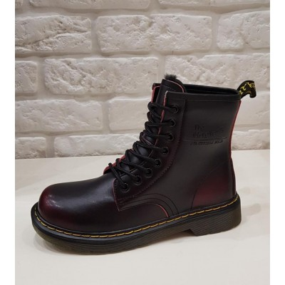 Ботинки Dr.martens 8 колец 1460 red Winter
