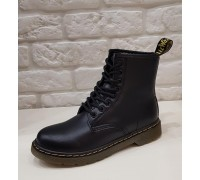 Ботинки Dr.martens 8 колец 1460 Black Winter
