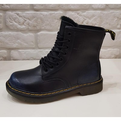 Ботинки Dr.martens 8 колец 1460 Blue Winter