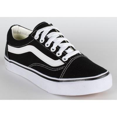 Кеды Vans Black-white 1
