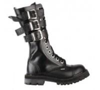 """Ботинки Ranger 12 колец """"Black"""" 3ремня"""