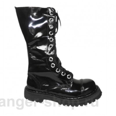 "Ботинки Ranger 12 колец "" Deep Black "" лак"