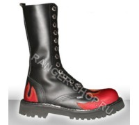"Ботинки Ranger 12 колец  ""Fire Red"""