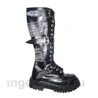 Ботинки Ranger 16 колец 3 ремня и цепи