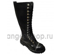 "Ботинки Ranger 16 колец ""Black Zipper """