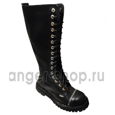 "Ботинки Ranger 16 колец ""Black Zipper """