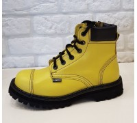 "Ботинки Ranger ""Yellow "" 6 колец кант"