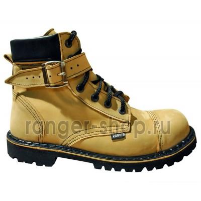 "Ботинки Ranger 7 колец "" Сахара ""+ ремень"