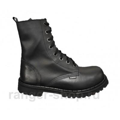 """Ботинки Ranger 8 колец """"Black Hard"""""""