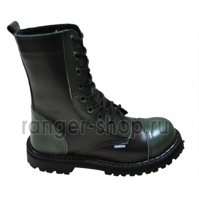 "Ботинки Ranger 9 колец "" Black navy-2"""