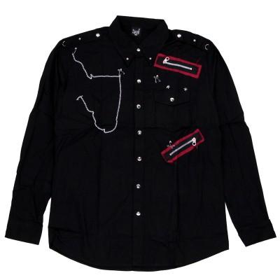 Рубашка Чёрная 2