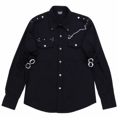 Рубашка Чёрная 5