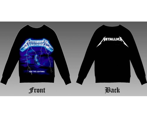 Свитшот Metallica sv2