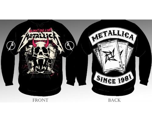 Свитшот Metallica sv1