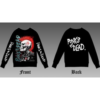Свитшот Punks not dead sv1